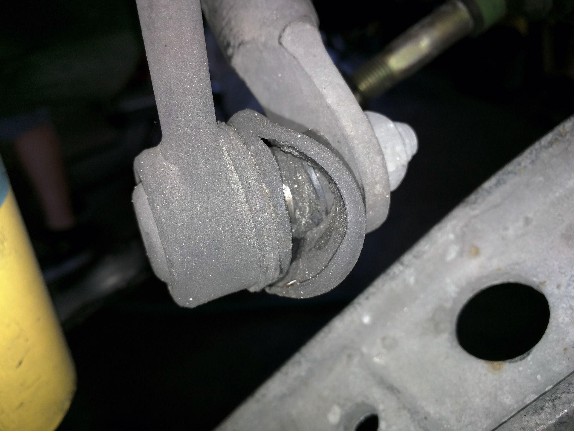 Here is a sway bar endlink.   These boots are supposed to keep grease in and keep contaminants out.